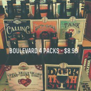 Boulevard Four Packs